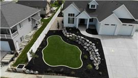 Home landscaping & hardscaping in Brigham City, UT