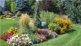 Garden Landscaping at Brigham City, UT