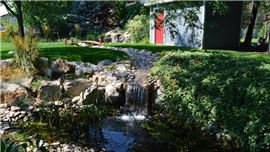 Water features landscaping in Brigham City, UT