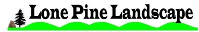 Lone Pine Landscaping Logo